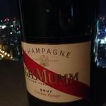 30916258 - シャンパン越しの夜景