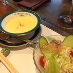 30917606 - スープ、サラダ