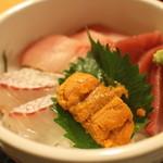博多魚がし - うに海鮮丼