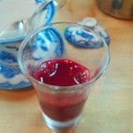 川原 - すっぽんの血のクランベリージュース割