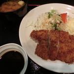 30918406 - チキンカツ定食