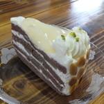 自家焙煎珈琲屋 カフェ・ブレンナー - 洋ナシのケーキ