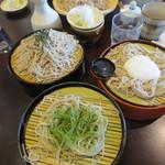 女鳥羽そば - 三重そば(1400円)