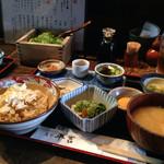 葱や平吉 - 湯葉とろろ定食