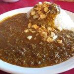 ラ・リチェッタ - 特製辛口挽肉の欧風カレーライス¥945