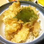 手打ち蕎麦・うどん 彩め - 「小海老天丼セット」小海老天丼
