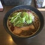Ogikuborameneiryuuken - 黒担々麺 850円
