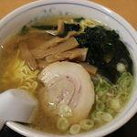 花つつじ - 塩ラーメン 458円(税抜き)
