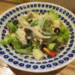 食堂ペスカバ - 自家製ツナサラダ