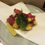 食堂ペスカバ - 地蛸の唐揚げ