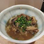 食堂ペスカバ - 牛すじ煮