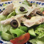 食堂ペスカバ - 自家製ツナサラダアップ