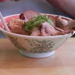 豚菜館 - 醤油 中 肉多め \850