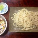 きくち - 料理写真:鴨汁合盛(*´v`*)