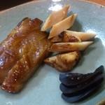 折衷旬彩 香月 - 地鶏の香月焼き