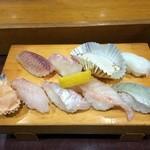 波布鮨 - おまかせの地魚握り