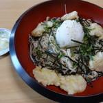 さらしん - 冷やし小海老蕎麦(850円)