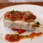 ビストロ アンバロン - ランチコースの前菜・サバとジャガイモのパテ