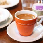 ビストロ アンバロン - ランチコースのコーヒー。