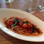 サデン - 地蛸とトマトのスパゲッティ