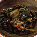 中華酒場 サモハン - 広島菜のキムチ