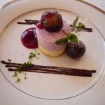 フレンチレストラン 千秋亭 - 葡萄のムース