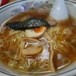 ラーメン家 三八 - (2014/8月)「三八ラーメン」シャモロック スープ