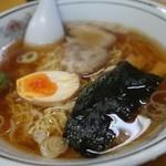 ラーメン家 三八 - (2014/8月)「三八ラーメン」煮干しスープ