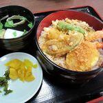 うなぎ・日本料理 ゑびす家 - 天丼(2014/09/23撮影)