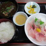 うなぎ・日本料理 ゑびす家 - あらい定食(2014/09/23撮影)