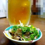 ふくちゃんラーメン - 生ビール