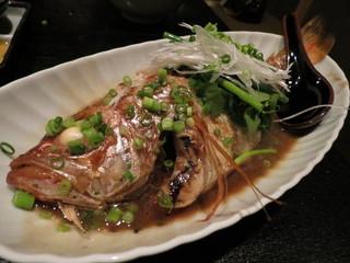 魚んと - 【再訪10】ノドクロ煮付け