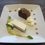 KIRYU - チーズケーキとチョコレートケーキ