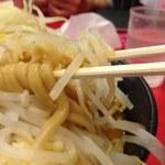 ドンキタモト - 麺の太さと色が良い感じ