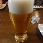 ばんざい家 - 生ビール