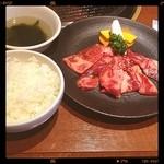 神田 炎蔵 - カルビと冷麺のセット の カルビ