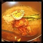神田 炎蔵 - カルビと冷麺のセット の 冷麺