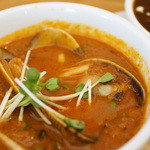 curry diningbar 笑夢 - あさりと青唐辛子入りマサラ