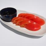 串カツ田中 - 料理写真:冷やしトマト