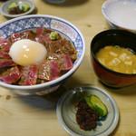いまきん食堂 - あか牛丼 ¥1200(税別)