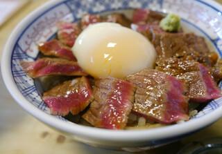 いまきん食堂 - あか牛丼