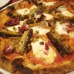 30940135 - さんまとオリーブのピザ ナポリ風