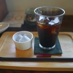 ヒバリカフェ - アイスコーヒー