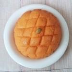 花ロードえにわ ベーカリー工房 カリンバ - かぼちゃメロンパン 150円 2014/09
