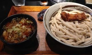 MASAKIYA  - 肉汁うどん中盛り