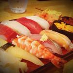 海鮮寿司居酒屋 宮古 - 握り1500円