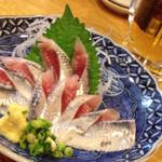 海鮮寿司居酒屋 宮古 - イワシの刺身480円