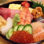 海鮮寿司居酒屋 宮古 - 海鮮丼1500円