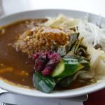 カフェ ド サラン - 京野菜カレーセット¥1600