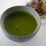 カフェ ド サラン - カレーセットの濃茶(アイス)
